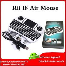 mini keyboard for tv box Rii i8 Mini Wireless keyboard with Touchpad Fly Air Mouse Combo Teclado rii i8 mini 2.4ghz wireless