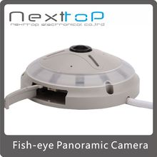 HD 1.3Megapixel (1280*1024) Day / night IR Fish-Eye 360 degrees Panoramic SD card P2P IP Camera C-F130