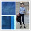 popular denim fabric design of 100% cotton denim fabric for jeans clothing