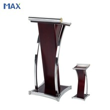 modern church pulpit designs with metal and wood