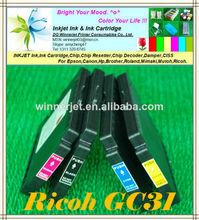 de calidad bien garantizado para ricoh gc31 compatible cartucho de tinta con tinta