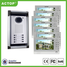 Simple video door phone with camera support Multi apartment user