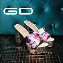 woman slipper alibaba china !! Feet cool slippers!women summer fashion flat shoes!