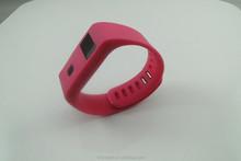 2015 top smart bracelet OLED Bluetooth high quality bracelet bangle smart watch min band