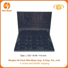 high quality black empty makeup kit 60 color eyeshadow case