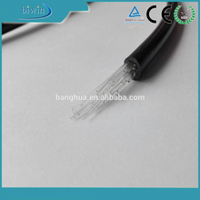 Multi Cores Colour Changing Plastic Fiber Optic Cable For Lighting