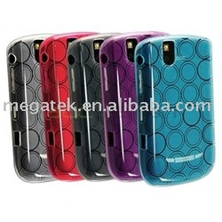 Mobile phone accessories phone case circle TPU case for Blackberry Bold 9000