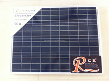 RJ solar panel factory 90w solar panel polycrystalline solar cell 156*156 36pcs 12v poly silicon solar panel RSM36-156P-90w