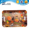 two handle plastic rectangle coffe tray for Halloween