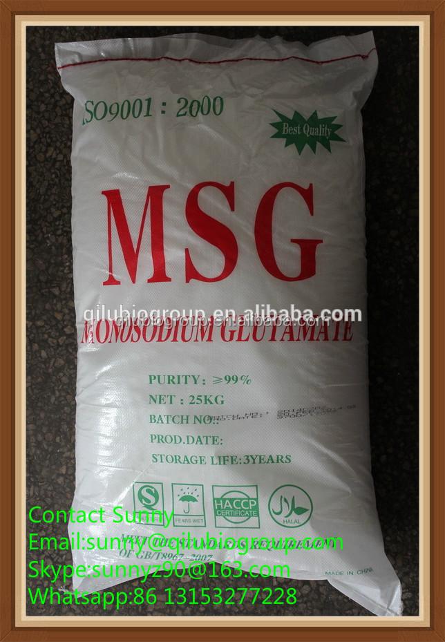 25kg Bag Packaging Iso Kosher Halal Certification 99