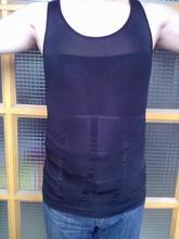 Men's Tummy Toner Instant Body Shaper stomach lift Shirt Underwear