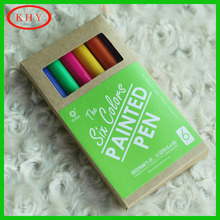 Color Permanent Marker Pen with sticker on pen body