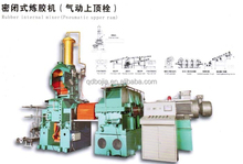 Rubber internal mixer(Hydraulic upper ram)