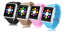 2015 silicon watch/ smart watch mobile phone /gps watch