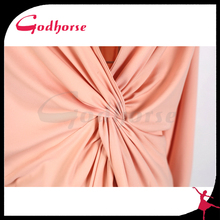 New Style Pink Sexy Long Sleeve Short Dress in 2015