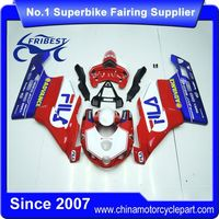 FFKDU003 Motorcycle Fairing Kit For 749 999 2005 2006