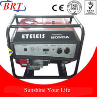 2.5kw honda gasoline generator