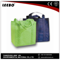 2015 Hot sale breathable good strength non woven bag price
