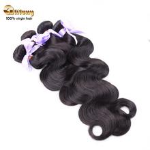 Hot top quality wholesale cheap natural false hair double weft sift eurasian body wave hair