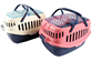 Shopping basket type dog box