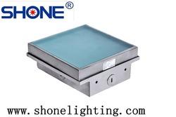 High quality Toughness glass 12-19mm 1.3W DC14V/24V RGB load min. 2,000 kg outdoor China luminous pavers