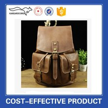 fashion leather tote backpack bag