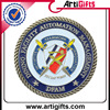 Manufactory Production colorful custom commemorative coins