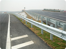Hot Dipped Galvanized W Beam Highway Guardrail with Post