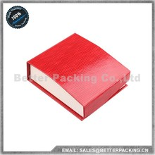 New Product for Printing Paper Pendant Jewelry Box with Velvet Fabric Inner Pad JBP001P
