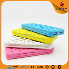 6000mAh power bank External Battery portable phone charger for iphone 6 plus