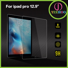 9H HD anti shock screen film tempered glass screen protector for iPad pro 12.9''