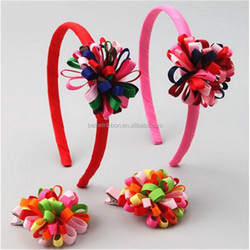 Economic classical decorate ear plastic headband