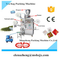 Promotion price JX009 Automatic tea bag packing machine with inner bag and envelop