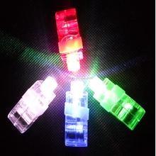 2015 New Christmas Gift Flashing Funny Rings Finger LED Light For Bar/Party/Festival