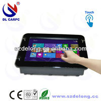"""High Quality fanless Thin Client 8"""" Mini Christmas Price PC"""