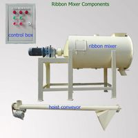 durable low cost horizontal ribbon mixer for animal feed hot sale