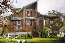 wpc house recycled backyard outside hollow decking wood composite siding