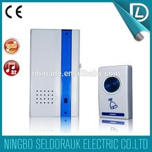 With competitive price battery type remote control smart home industrial door bell