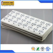 Hot popular hs code for labels and hs codes sticker make in China