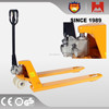 Heami 2500kg 2.5Ton Low Profile adjustable hydraulic hand Pallet Truck for sale