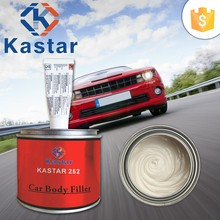 high performance cold-curing car body filler for heavy filling and repair