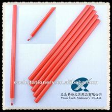 2012 new arrival red lead marking pencil pen on leather, textile, glass