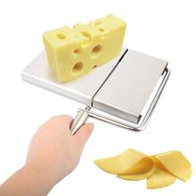 Por atacado em linha fio de aço inoxidável queijo slicer em máquina de corte de queijo