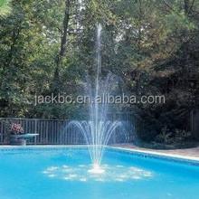 Outdoor water fountains, garden water fountain, 3 tier plastic fountain