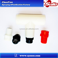 Fine misting cool nozzle,low pressure garden sprayer,fog nozzle with Tee fitting