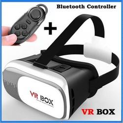Magicbox VR Box V2 Play Virtual Reality Helmet 3D Glasses Google Movie Game Cardboard Film Oculus Rift DK2 +Bluetooth Controller