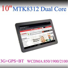 1024*600 1GB/8GB Bluetooth 4.0 10 inch android tablet 3g gps