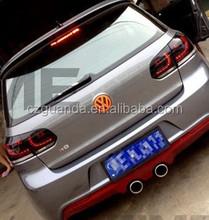 For VW GOLF 6 2012 led tail light