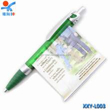 Most popular promotional plastic personalized banner pen