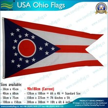 3x5ft Hot selling USA states flags, American custom flags